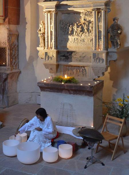 Märchenhaftes Klangkonzert in der Schlosskapelle