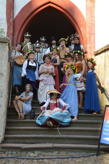 Rochsburger Rochade - Historisches Burgfest