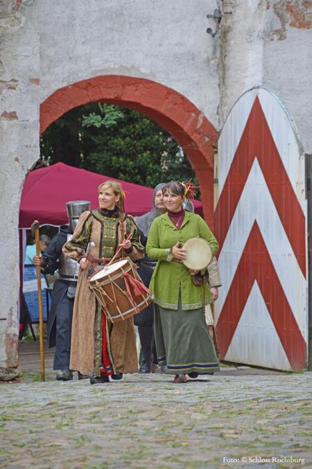 Rochsburger Rochade – Historisches Burgfest
