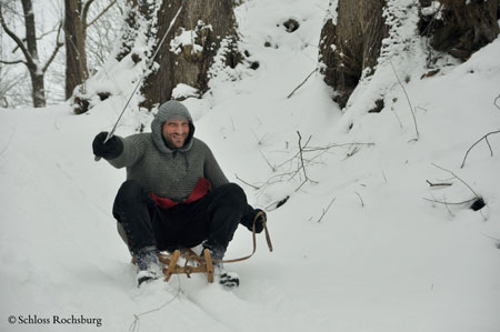 Was macht der Ritter Günther im Winter