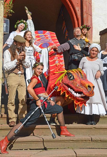 3. Rochsburger Rochade – Historisches Burgfest