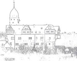 Ausmalen Schloss Rochsburg
