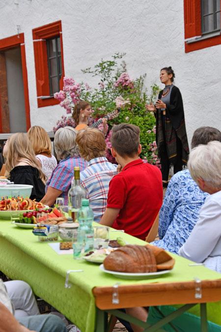 Weiße Nächte auf Schloss Rochsburg